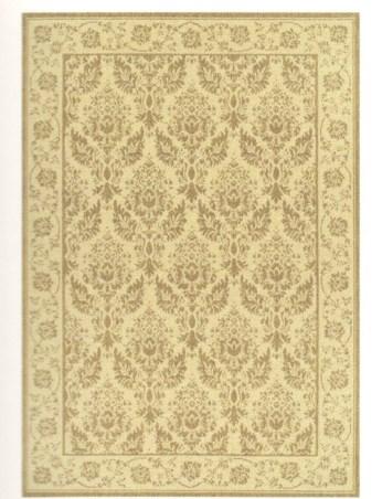 Ковер Oriental Weavers Давн, цвет: бежевый, 120 х 170 см. 125 D21096Циновка из полипропилена - удобно, практично, современно. Оригинальный ковер от известной египетской фабрики Oriental Weavers подойдет для современных и классических интерьеров.