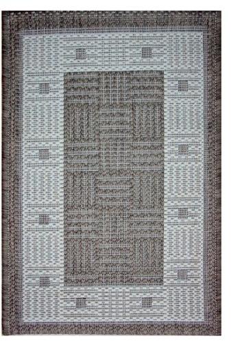 Ковер Oriental Weavers Давн, цвет: бежевый, 120 см х 170 см. 879 N21103Циновка из полипропилена-удобно, практично, современно