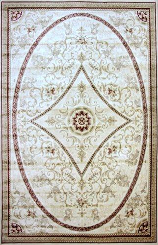 Ковер Oriental Weavers Мумбай, цвет: бежевый, 115 х 180 см. 0081 W CH88121196Высокоплотный ковер из вискозы с традиционным классическим дизайном станет отличным дополнением интерьера и придаст ему неповторимый классический оттенок.