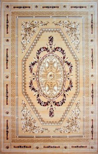Коврик прикроватный Oriental Weavers Мумбай, цвет: светло-бежевый, 115 см 180 см. 5990 ABJ AA21200Высокоплотный ковер из вискозы с традиционным классическим дизайном станет самостоятельным предметом интерьера и придаст ему неповторимый классический оттенок.