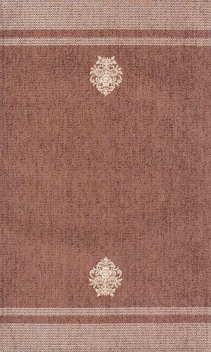 Коврик прикроватный Oriental Weavers Милано, цвет: коричневый, 55 см х 85 см. 44 Х290Приятные на ощупь и стильные коврики из шинилла и вискозы на основе из латекса подходят как для спальни, так и для гостиной