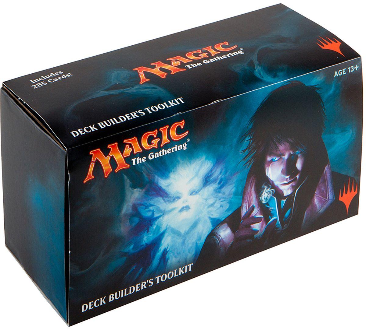 Magic: The Gathering Настольная игра Shadows over InnistradB62200000В комплект входят 100 базовых земель, 125 частых и необычных карт, и 4 бустера последних изданий, руководство по сбору колод, краткие правила игры, коробка для хранения карт. Все карты на английском языке.
