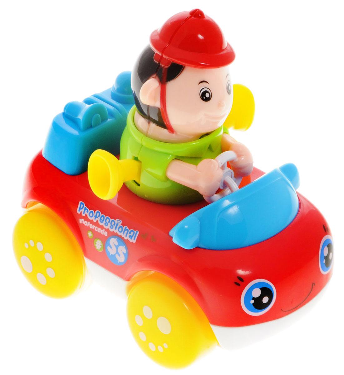 Huile Toys Машинка инерционная Пожарный