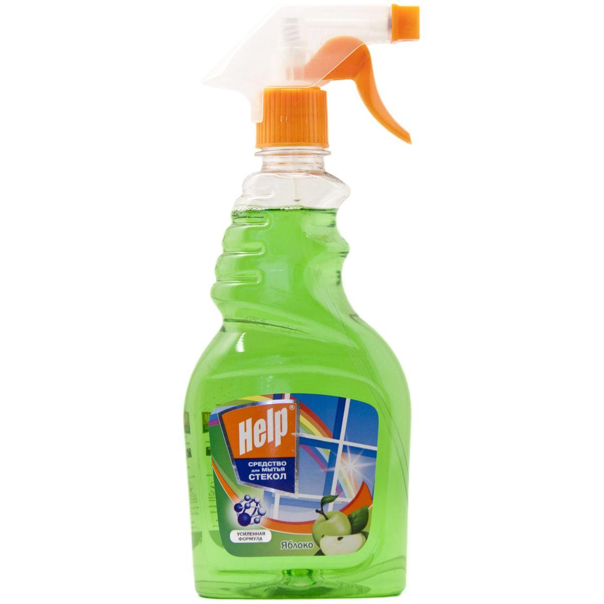 Средство для мытья стекол Help Яблоко, 500 мл4605845000459Эффективное средство для мытья стекол, окон, зеркал.Удаляет пятна. Смывает грязь, следы от пальцев.Защищает от пыли и придает блеск.- Не оставляет разводов