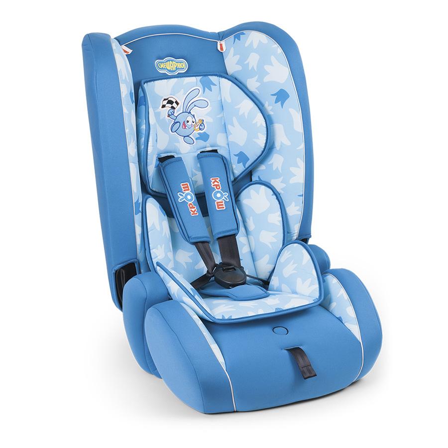 Детское кресло Autoprofi Смешарики Крош, 9 до 36 кг.SM/DK-300 KroshАвтомобильное кресло относится к группе 1/2/3 и подходит для детей весом от 9 до 36 кг., примерно, с 9 мес до 12 лет. Удобное кресло, украшенное персонажами любимого детьми мультфильма, позволит надежно зафиксировать ребенка штатным ремнем безопасности. Толстый слой поролона подарит комфорт даже во время дальней поездки. Продукция прошла испытания и соответствует современным российским и европейским стандартам.