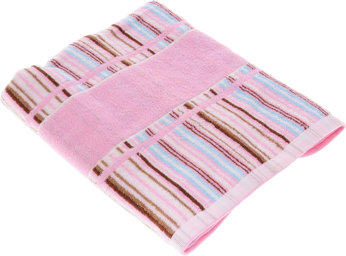 Полотенце Soavita Premium. Lucia, цвет: розовый, 70 х 140 см62921Полотенце Soavita Premium. Lucia выполнено из 100% хлопка. Изделие отлично впитывает влагу, быстро сохнет, сохраняет яркость цвета и не теряет форму даже после многократных стирок. Полотенце очень практично и неприхотливо в уходе. Оно создаст прекрасное настроение и украсит интерьер в ванной комнате.