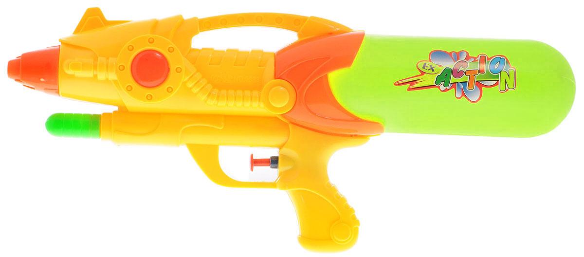 Bebelot Водный бластер цвет желтыйBEB1106-015Водный бластер Bebelot станет отличным развлечением для ребят в жаркую летнюю погоду. Бластер, выполненный из прочного и безопасного пластика ярких цветов, невероятно прост в использовании. Заполните резервуар водой и начинайте стрелять! При нажатии на курок бластер выстреливает струей воды. Оснащен съемным резервуаром, который надежно крепится при помощи резьбы. Такая игрушка не только порадует малыша, но и поможет ему совершенствовать мелкую моторику и координацию движений. С водным бластером ваш малыш сможет устроить настоящее водное сражение!