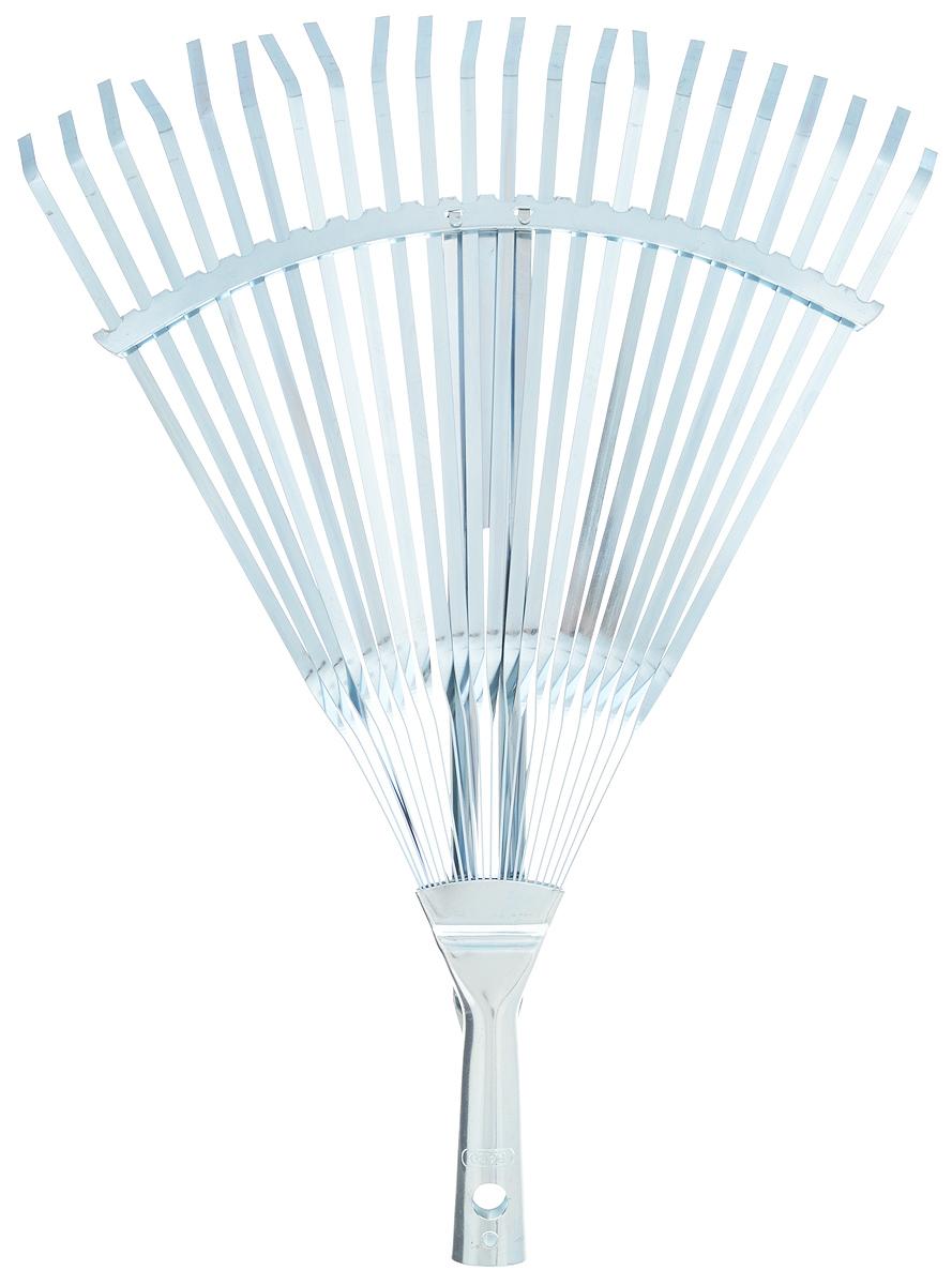 Грабли веерные Raco, регулируемые, 22 зуба, ширина 30-45 см4231-53/733Регулируемые веерные грабли Raco изготовлены из высококачественной стали и предназначены для работы в саду или на приусадебном участке. Такими граблями удобно сгребать листья, мусор и сорняки. Благодаря большому количеству зубцов, расположенных по принципу веера, уборка территории будет сделана в короткие сроки. Черенок в комплект не входит. Ширина граблей: 30-45 см. Количество зубьев: 22.