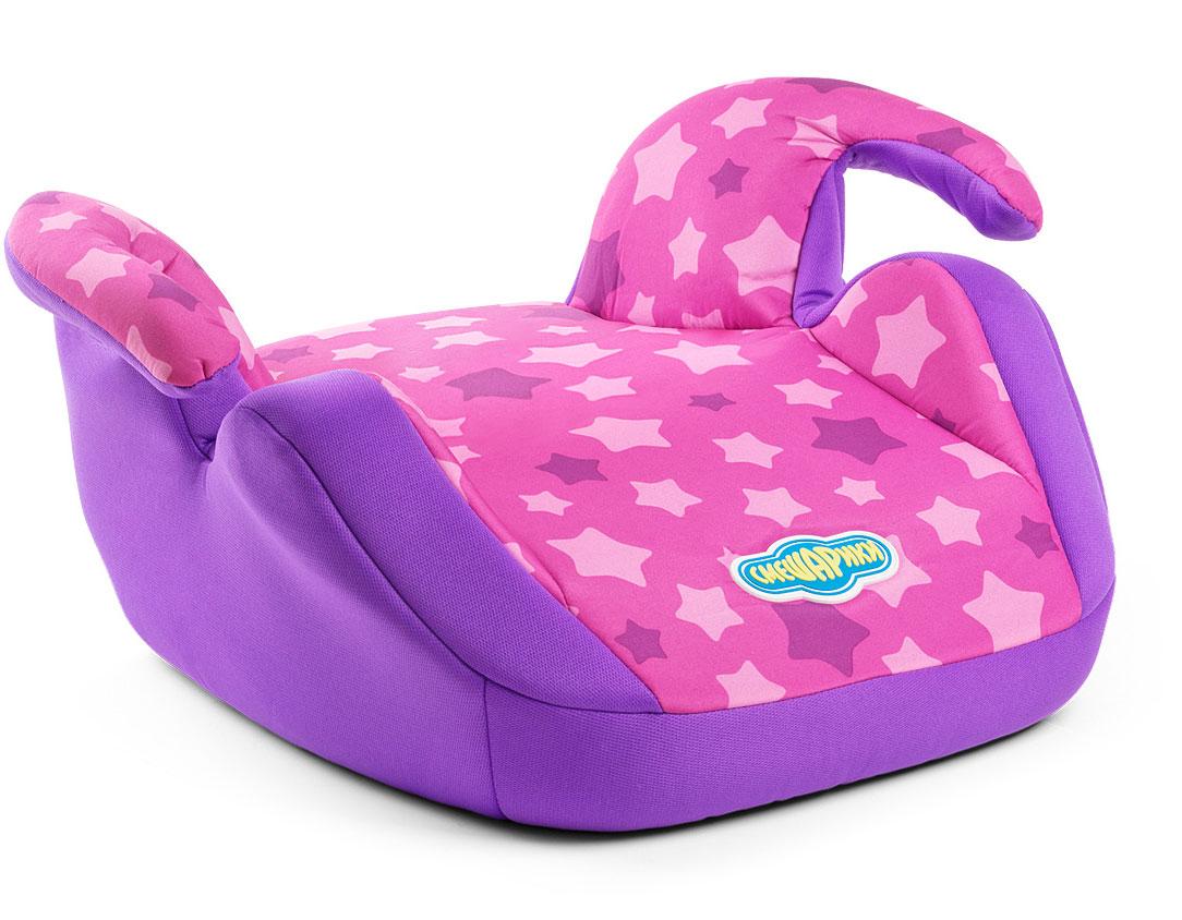 Детское кресло-бустер Autoprofi Смешарики Ежик, 15 до 36 кг.SM/DK-550 EzhikДетское автокресло-бустер для детей от 15 до 36 кг. Группа 2/3. Бустер комплектуется съемным чехлом. Универсальное крепление рассчитано на трехточечный штатный ремень безопасности автомобиля. Увеличенный размер сиденья и суженые подлокотники позволят ребенку комфортно себя чувствовать даже в плотной зимней одежде. Бустер оформлен в цветах Ежика — малиновый с фиолетовым. Модель соответствует ГОСТ Р 41.44-2006 (Россия), ECE R44/04 (Евросоюз).