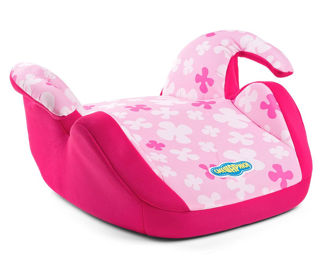 Детское кресло-бустер Autoprofi Смешарики Нюша, 15 до 36 кг.SM/DK-550 NyushaДетское автокресло-бустер для детей от 15 до 36 кг. Группа 2/3. Бустер комплектуется съемным чехлом. Универсальное крепление рассчитано на трехточечный штатный ремень безопасности автомобиля. Увеличенный размер сиденья и суженые подлокотники позволят ребенку комфортно себя чувствовать даже в плотной зимней одежде. Бустер оформлен в цветах Нюши — оттенки розового. Модель соответствует ГОСТ Р 41.44-2006 (Россия), ECE R44/04 (Евросоюз).