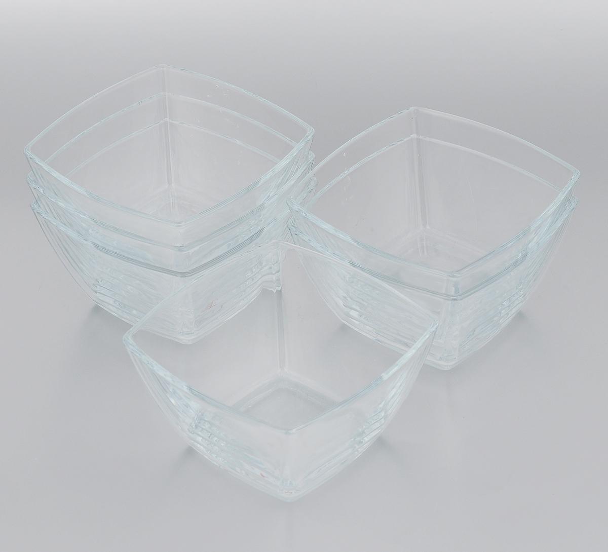 Набор салатников Pasabahce Tokio, 12,5 х 12,5 см, 6 шт53056/Набор Pasabahce Tokio, выполненный из высококачественного натрий-кальций-силикатного стекла, состоит из шести салатников. Такие салатники прекрасно подойдут для сервировки стола и станут достойным оформлением для ваших любимых блюд. Изящный дизайн, высокое качество и функциональность набора Pasabahce Tokio позволят ему стать достойным дополнением к вашему кухонному инвентарю. Можно мыть в посудомоечной машине, использовать в микроволновой печи, холодильнике и морозильной камере. Размер салатника: 12,5 х 12,5 см.