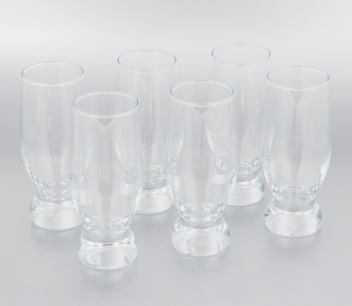 Набор стаканов Pasabahce Aquatic, 265 мл, 6 шт42978/Набор Pasabahce Aquatic состоит из 6 стаканов, выполненных из прочного натрий-кальций- силикатного стекла, которое выдерживает нагрев до 70°С. Стильный лаконичный дизайн, роскошный внешний вид и несравненное качество сделают их великолепным украшением стола. Подходят для мытья в посудомоечной машине. Можно использовать в микроволновой печи и для хранения пищи в холодильнике. Диаметр (по верхнему краю): 5,5 см. Высота стакана: 15 см.