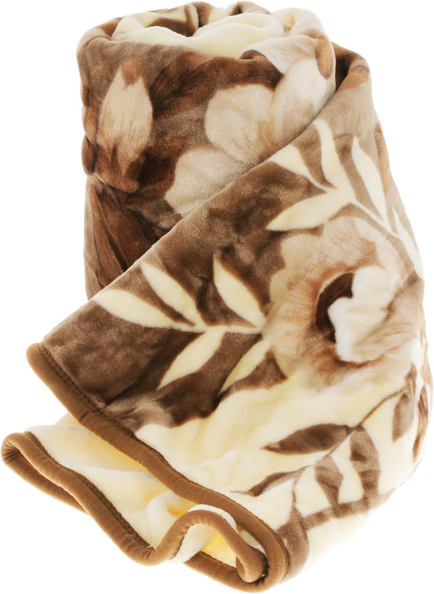 Плед Tamerlan, цвет: бежевый, коричневый, 160 х 210 см. 6845568455_бежевыйПлед Tamerlan - это идеальное решение для вашего интерьера. Изделие выполнено из полиэстера. Благодаря беспрецедентной стойкости и ровности красок, изделие не выгорает на солнце и остается первозданно ярким в течение продолжительного времени. Плед теплый, нежный, подкупающий не только высокими потребительскими характеристиками, но и уникальным, оригинальным внешним видом. Плед - это такой подарок, который будет всегда актуален, особенно для ваших родных и близких, ведь вы дарите им частичку своего тепла. Рекомендации по уходу: Ручная стирка при температуре 30°С. Не рекомендуется машинная стирка, отбеливание и глажка.