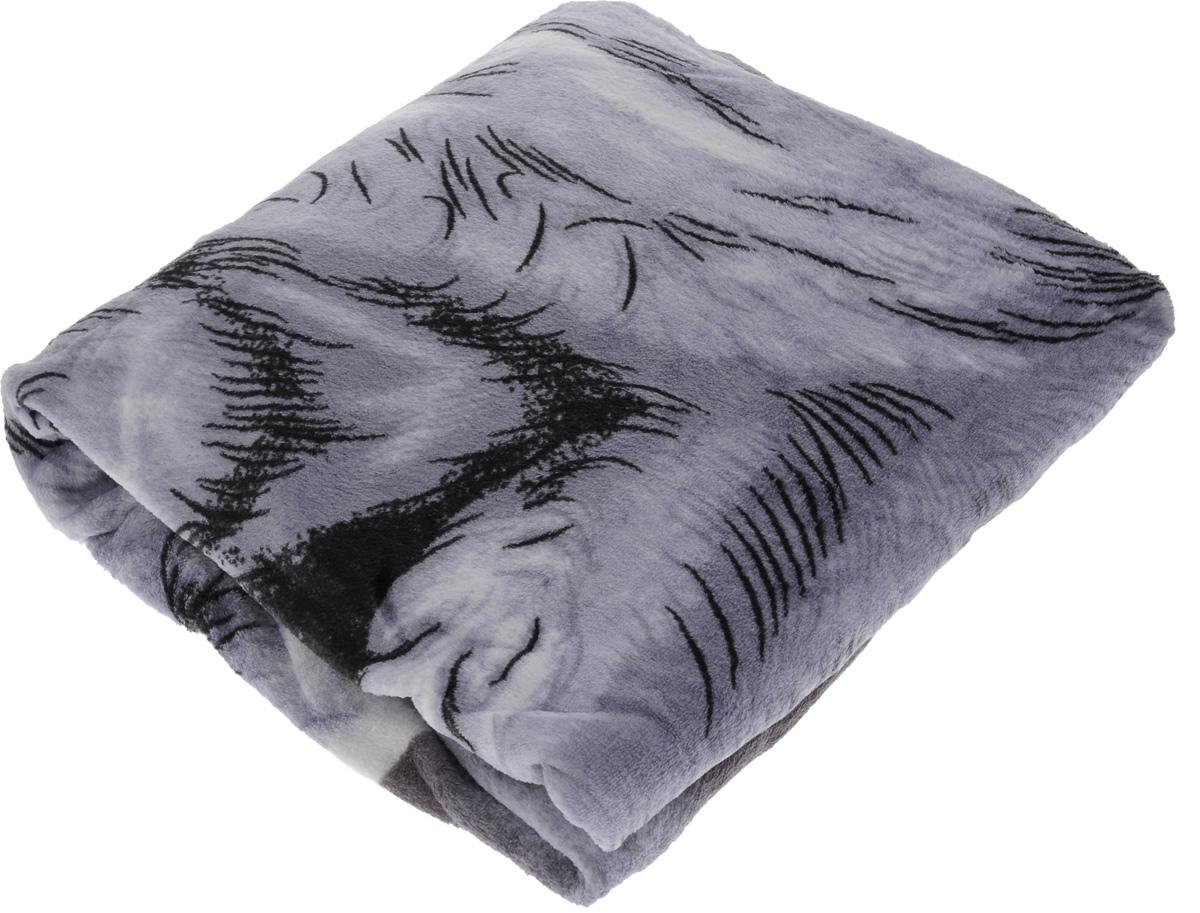Плед Absolute, цвет: сиреневый, серый, черный, 150 х 200 см. 6878668786Плед Absolute - это идеальное решение для вашего интерьера! Он порадует вас легкостью, нежностью и оригинальным дизайном! Плед выполнен из 100% полиэстера и оформлен ярким рисунком. Полиэстер считается одной из самых популярных тканей. Это материал синтетического происхождения из полиэфирных волокон. Внешне такая ткань схожа с шерстью, а по свойствам близка к хлопку. Изделия из полиэстера не мнутся и легко стираются. После стирки очень быстро высыхают. Плед - это такой подарок, который будет всегда актуален, особенно для ваших родных и близких, ведь вы дарите им частичку своего тепла! Плотность: 300 г/м2.