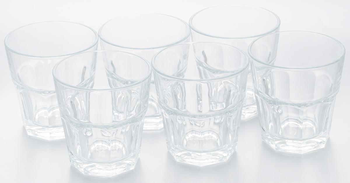 Набор стаканов Pasabahce Casablanca, 205 мл, 6 шт52862BTНабор Pasabahce Casablanca состоит из шести стаканов, выполненных из закаленного натрий-кальций-силикатного стекла. Изделия оснащены многогранной рельефной поверхностью. Такие стаканы подойдут для подачи виски, сока и других напитков со льдом. Стаканы сочетают в себе элегантный дизайн и функциональность. Набор стаканов Pasabahce Casablanca идеально подойдет для сервировки стола и станет отличным подарком к любому празднику. Можно использовать в морозильной камере и микроволновой печи. Можно мыть в посудомоечной машине. Диаметр стакана (по верхнему краю): 7,5 см. Высота стакана: 8 см.
