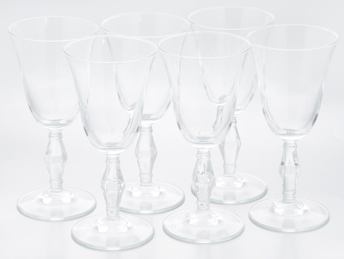 Набор бокалов Pasabahce Retro, 236 мл, 6 шт440060BНабор Pasabahce Retro состоит из шести бокалов, выполненных из прочного натрий-кальций- силикатного стекла. Бокалы предназначены для подачи вина или других напитков. Они сочетают в себе элегантный дизайн и функциональность. Набор бокалов Pasabahce Retro прекрасно оформит праздничный стол и создаст приятную атмосферу за романтическим ужином. Такой набор также станет хорошим подарком к любому случаю. Можно мыть в посудомоечной машине. Диаметр бокала (по верхнему краю): 8,5 см. Высота бокала: 18,5 см.