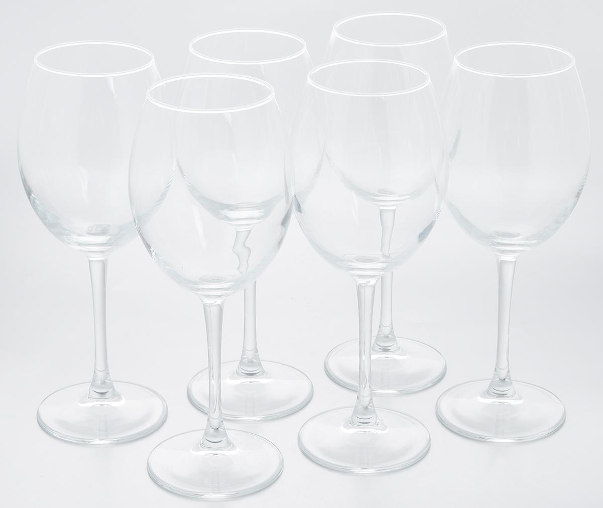 Набор бокалов для красного вина Pasabahce Enoteca, 550 мл, 6 шт44228BНабор Pasabahce Enoteca состоит из шести бокалов, выполненных из прочного натрий-кальций-силикатного стекла. Изделия оснащены высокими ножками. Бокалы предназначены для подачи красного вина. Они сочетают в себе элегантный дизайн и функциональность. Набор бокалов Pasabahce Enoteca прекрасно оформит праздничный стол и создаст приятную атмосферу за романтическим ужином. Такой набор также станет хорошим подарком к любому случаю. Можно мыть в посудомоечной машине. Диаметр бокала (по верхнему краю): 7 см. Высота бокала: 23,5 см.