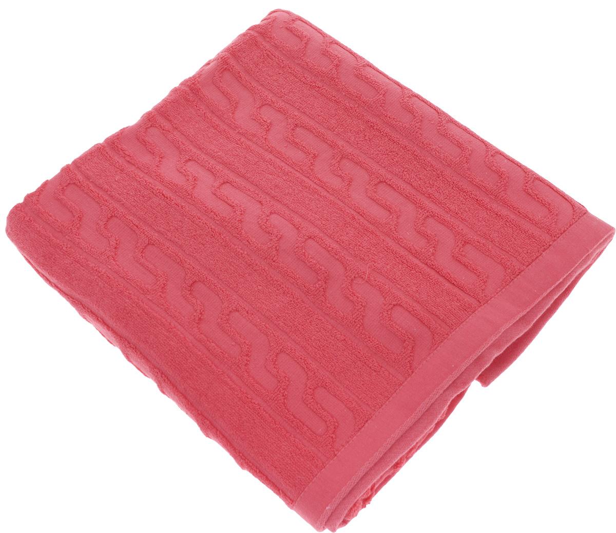 Полотенце Soavita Paolo, цвет: красный, 70 х 140 см64059Полотенце Soavita Paolo выполнено из 100% хлопка. Изделие отлично впитывает влагу, быстро сохнет, сохраняет яркость цвета и не теряет форму даже после многократных стирок. Полотенце очень практично и неприхотливо в уходе. Оно создаст прекрасное настроение и украсит интерьер в ванной комнате.