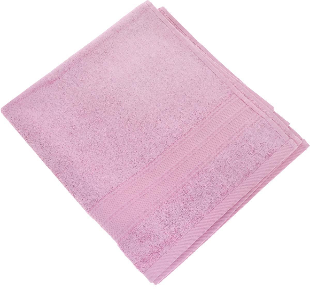 Полотенце Soavita Luxury. Вояж, цвет: розовый, 70 х 140 см51745Полотенце Soavita Luxury. Вояж выполнено из высококачественного тенселя. Изделие отлично впитывает влагу, быстро сохнет, сохраняет яркость цвета и не теряет форму даже после многократных стирок. Полотенце очень практично и неприхотливо в уходе. Оно создаст прекрасное настроение и украсит интерьер в ванной комнате.
