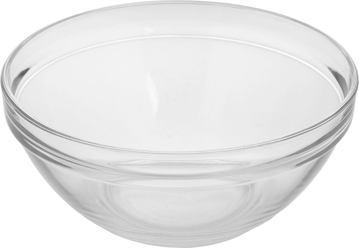 Салатник Pasabahce Chefs, диаметр 23 см53583BСалатник Pasabahce Chefs, выполненный из прозрачного высококачественного натрий- кальций-силикатного стекла, предназначен для красивой сервировки различных блюд. Салатник сочетает в себе лаконичный дизайн с максимальной функциональностью. Оригинальность оформления придется по вкусу и ценителям классики, и тем, кто предпочитает утонченность и изящность. Можно использовать в холодильной камере, микроволновой печи и мыть в посудомоечной машине. Диаметр салатника: 23 см. Высота салатника: 10 см.