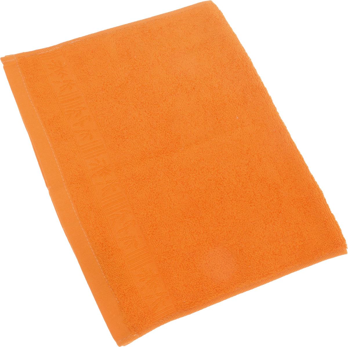 Полотенце Soavita Sofia, цвет: оранжевый, 70 х 140 см64112Полотенце Soavita Sofia выполнено из 100% бамбукового волокна. Изделие отлично впитывает влагу, быстро сохнет, сохраняет яркость цвета и не теряет форму даже после многократных стирок. Полотенце очень практично и неприхотливо в уходе. Оно создаст прекрасное настроение и украсит интерьер в ванной комнате.