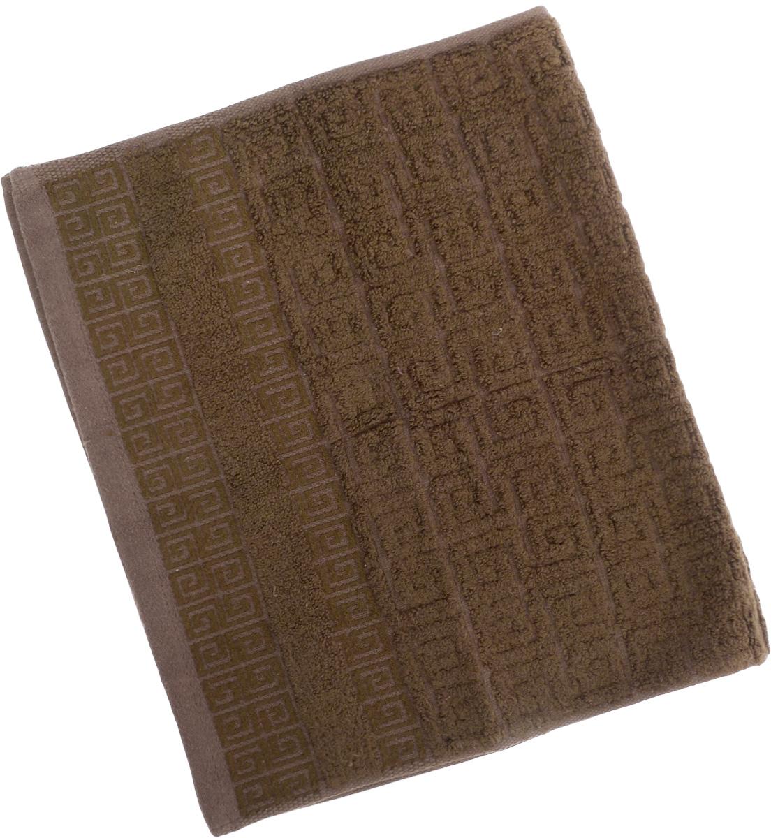 Полотенце Soavita Alber, цвет: коричневый, 30 х 50 см64143Полотенце Soavita Alber выполнено из 100% бамбукового волокна. Изделие отлично впитывает влагу, быстро сохнет, сохраняет яркость цвета и не теряет форму даже после многократных стирок. Полотенце очень практично и неприхотливо в уходе. Оно создаст прекрасное настроение и украсит интерьер в ванной комнате.