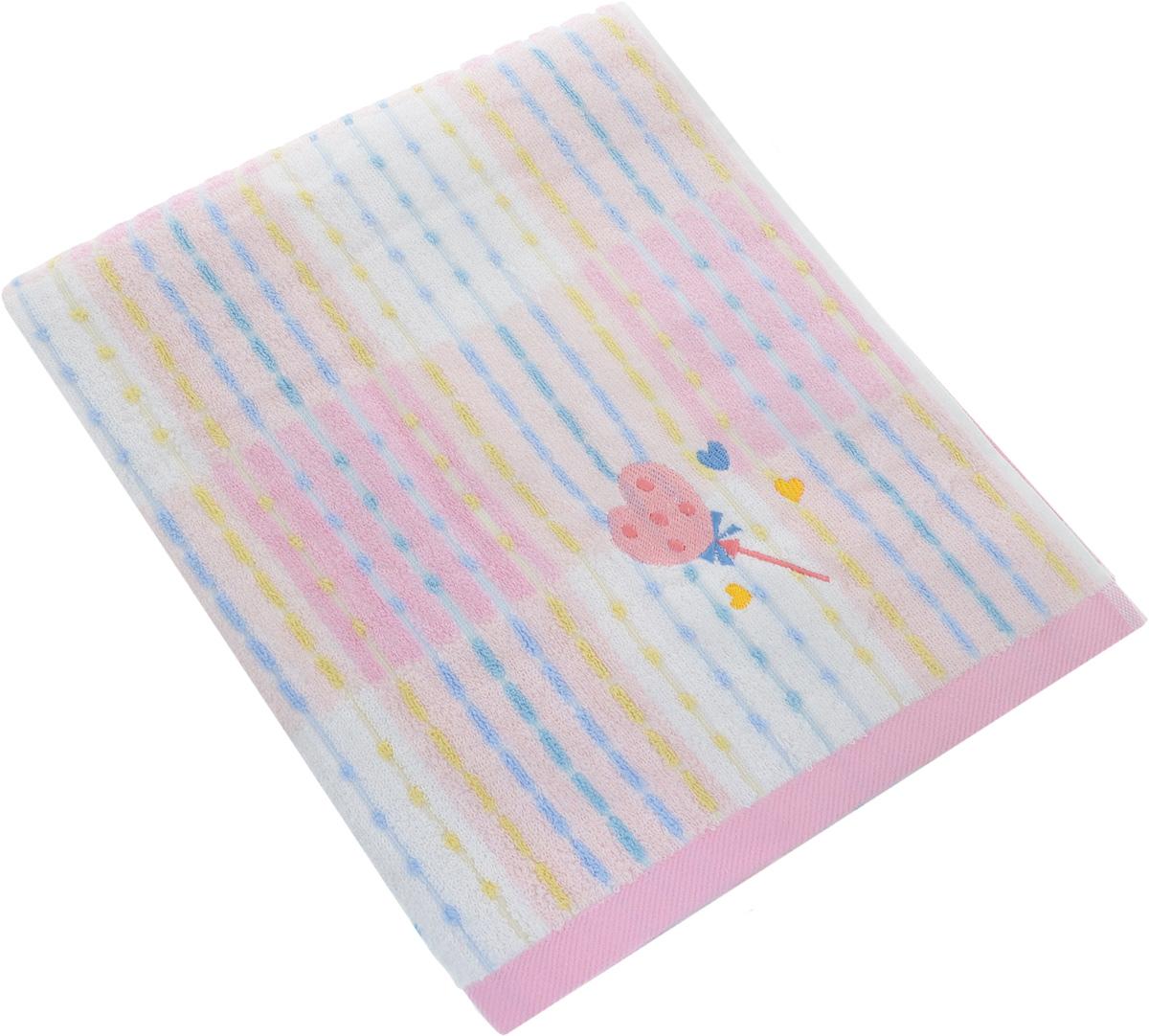 Полотенце Soavita Premium. Marni, цвет: розовый, 70 х 140 см62917Полотенце Soavita Premium. Marni выполнено из 100% хлопка. Изделие отлично впитывает влагу, быстро сохнет, сохраняет яркость цвета и не теряет форму даже после многократных стирок. Полотенце очень практично и неприхотливо в уходе. Оно создаст прекрасное настроение и украсит интерьер в ванной комнате.