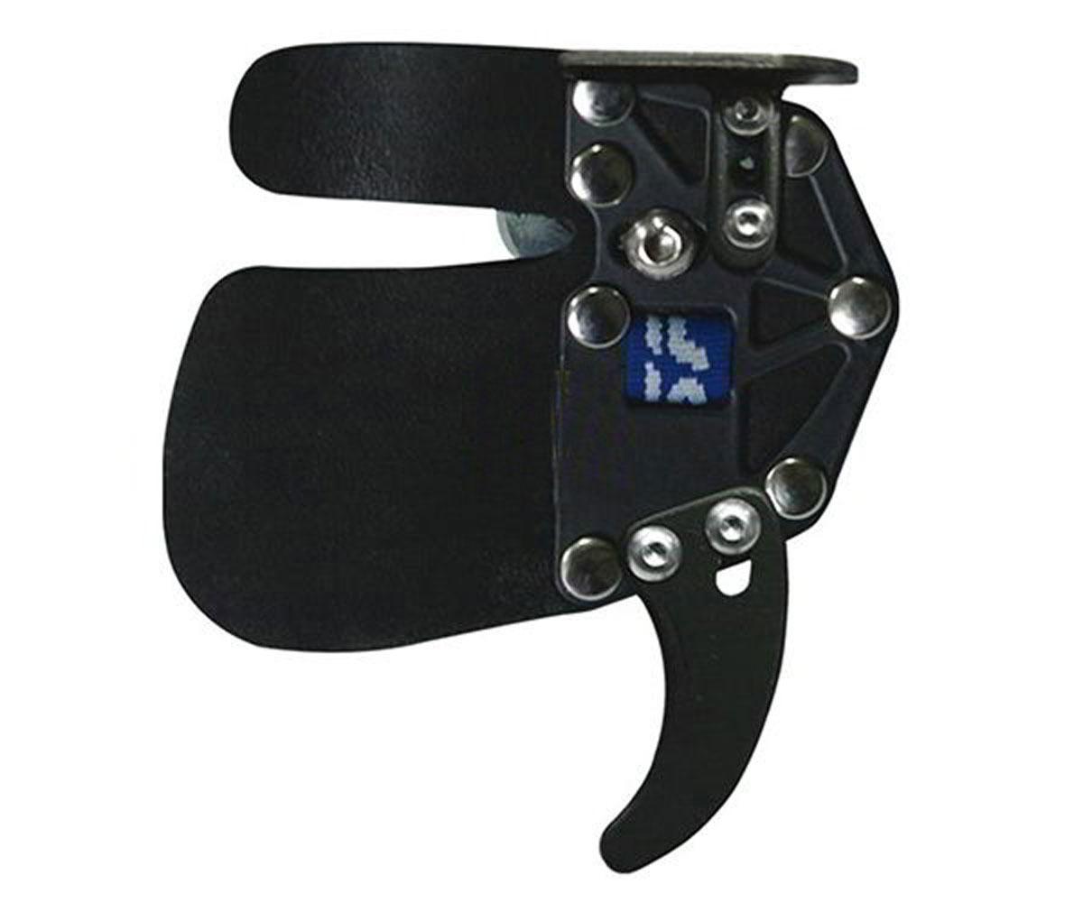 Напальчник классический SF Premium RH, цвет: синий. Размер L. SFPTABLLSFPTABLLСпортивный оригинальный напальчник SF Premium Tab RH – это классический аксессуар для амуниции среднего и профессионального лучника.