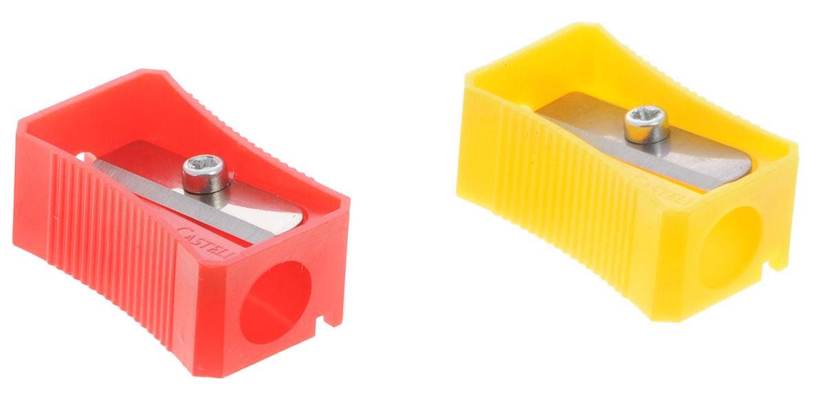 Faber-Castell Точилка цвет красный желтый 2 шт263221_красный, желтыйТочилка Faber-Castell предназначена для затачивания классических простых и цветных карандашей. В наборе две точилки из прочного пластика красного и желтого цветов с рифленой областью захвата. Острые лезвия обеспечивают высококачественную и точную заточку деревянных карандашей.