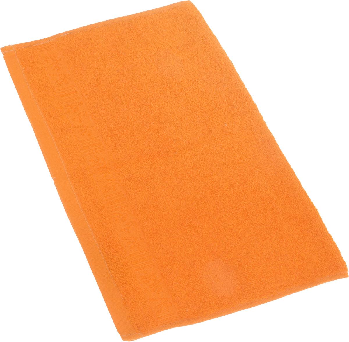 Полотенце Soavita Sofia, цвет: оранжевый, 30 х 50 см69520Полотенце Soavita Sofia выполнено из 100% бамбукового волокна. Изделие отлично впитывает влагу, быстро сохнет, сохраняет яркость цвета и не теряет форму даже после многократных стирок. Полотенце очень практично и неприхотливо в уходе. Оно создаст прекрасное настроение и украсит интерьер в ванной комнате.