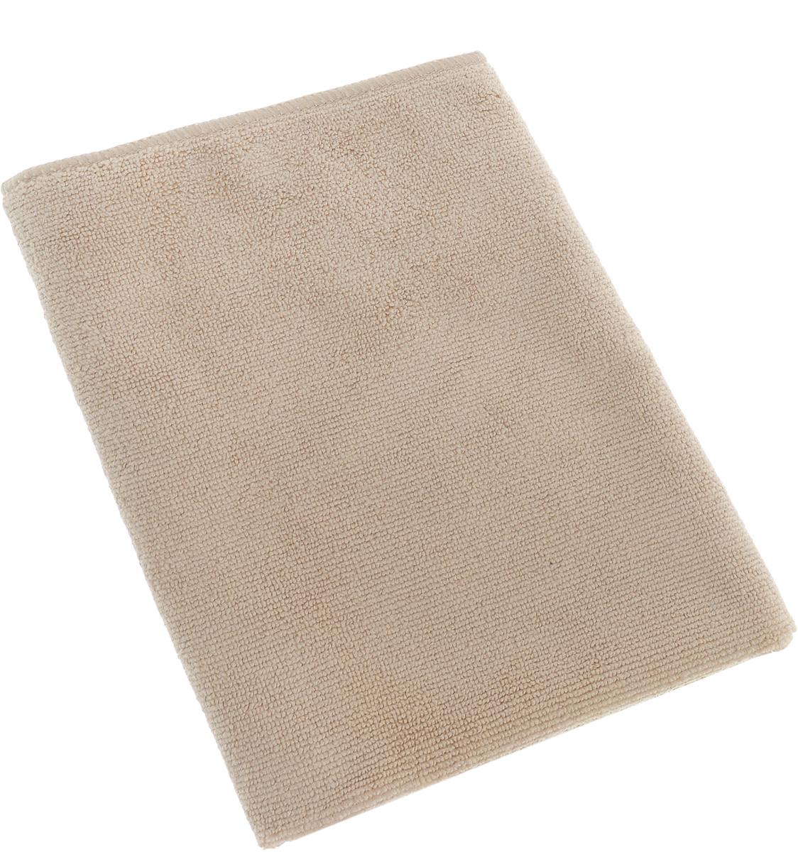 Салфетка для кухни Soavita, цвет: бежевый, 30 х 30 см63850Салфетка Soavita выполнена из микрофайбера (80% полиэстер и 20% полиамид). Изделие отлично впитывает влагу, быстро сохнет, сохраняет яркость цвета и не теряет форму даже после многократных стирок. Салфетка подходит для вытирания легких загрязнений и полировки. Протертая поверхность становится идеально чистой, сухой и блестящей. Такая салфетка очень практична и неприхотлива в уходе. Рекомендуется стирка при температуре 40°C.
