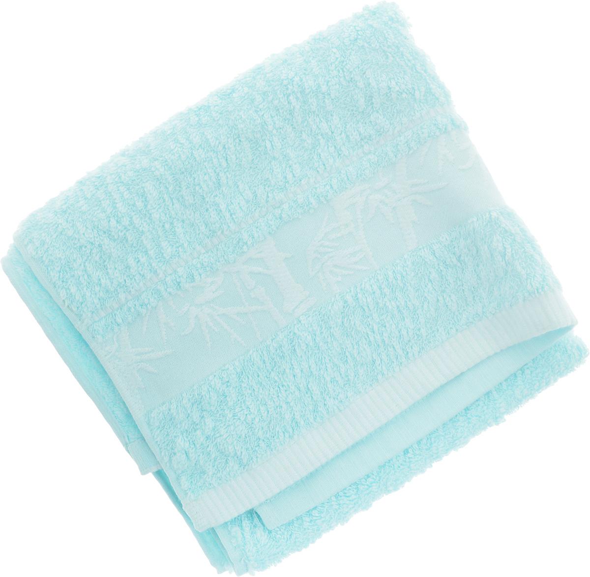 Полотенце Soavita Chloe, цвет: голубой, 50 х 90 см64162Полотенце Soavita Chloe выполнено из 100% бамбукового волокна. Изделие отлично впитывает влагу, быстро сохнет, сохраняет яркость цвета и не теряет форму даже после многократных стирок. Полотенце очень практично и неприхотливо в уходе. Оно создаст прекрасное настроение и украсит интерьер в ванной комнате.