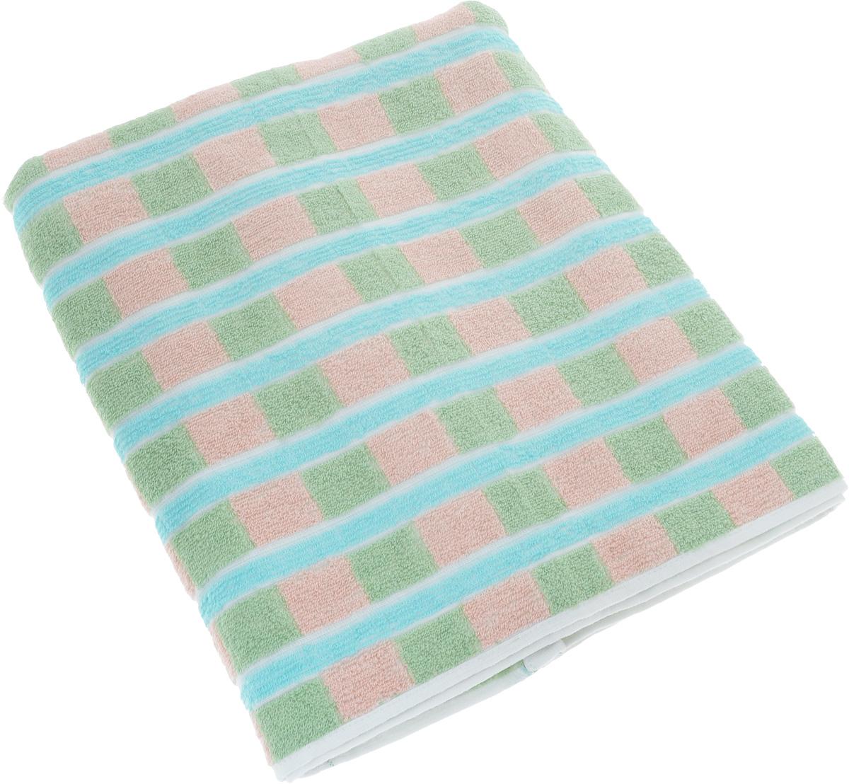 Полотенце Soavita Premium. Linda, цвет: зеленый, розовый, голубой, 70 х 140 см62934Полотенце Soavita Premium. Linda выполнено из 100% хлопка. Изделие отлично впитывает влагу, быстро сохнет, сохраняет яркость цвета и не теряет форму даже после многократных стирок. Полотенце очень практично и неприхотливо в уходе. Оно создаст прекрасное настроение и украсит интерьер в ванной комнате.