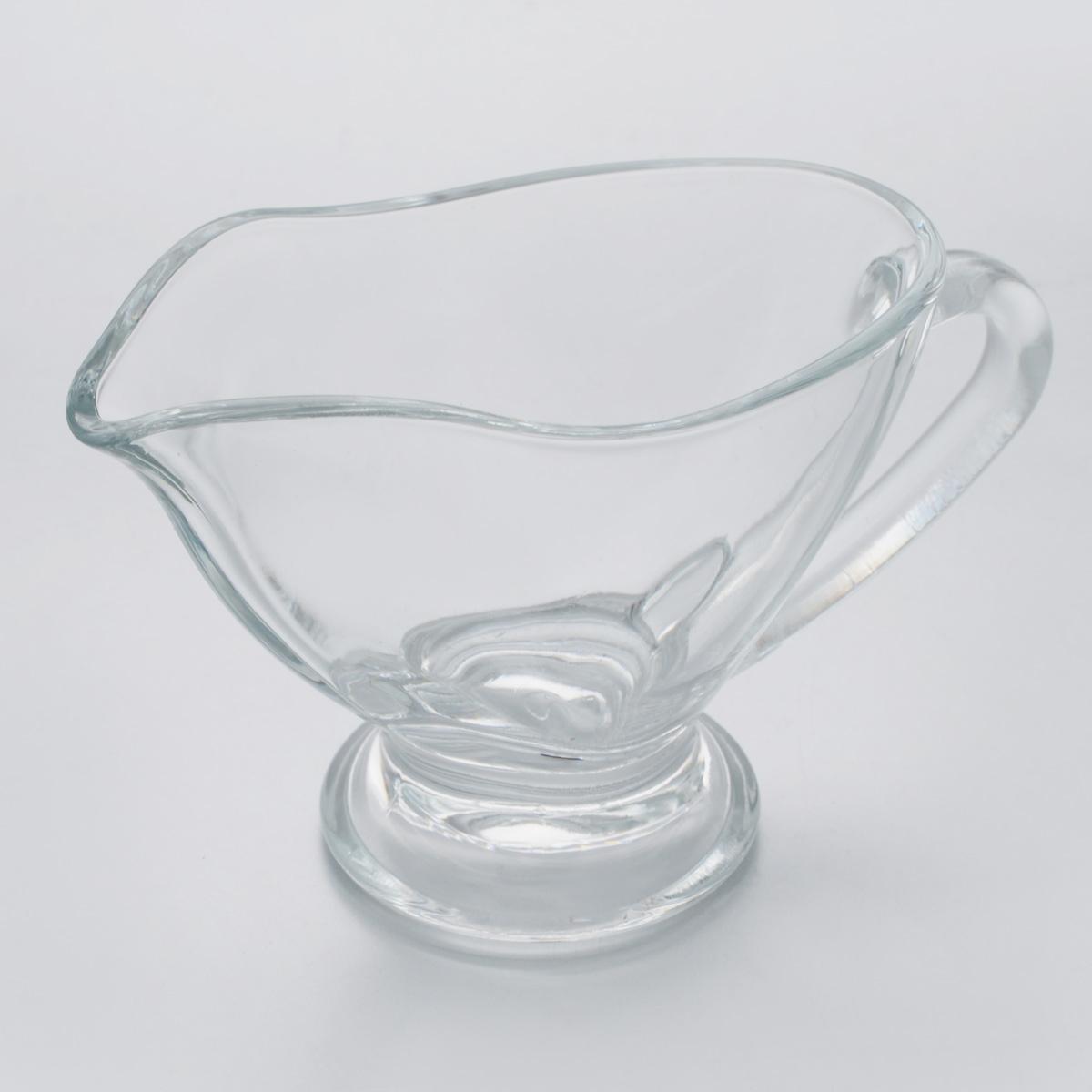 Соусник Pasabahce Basic, 170 мл55012BЭлегантный соусник Pasabahce Basic изготовлен из прочного натрий-силикатного стекла. Благодаря этому соуснику вы всегда сможете красиво и эстетично подать соус к столу. Изделие придется по вкусу и ценителям классики, и тем, кто предпочитает утонченность и изящность. Соусник Pasabahce Basic украсит сервировку вашего стола и подчеркнет прекрасный вкус хозяина. Можно мыть в посудомоечной машине. Размер по верхнему краю: 12,5 х 7 см.