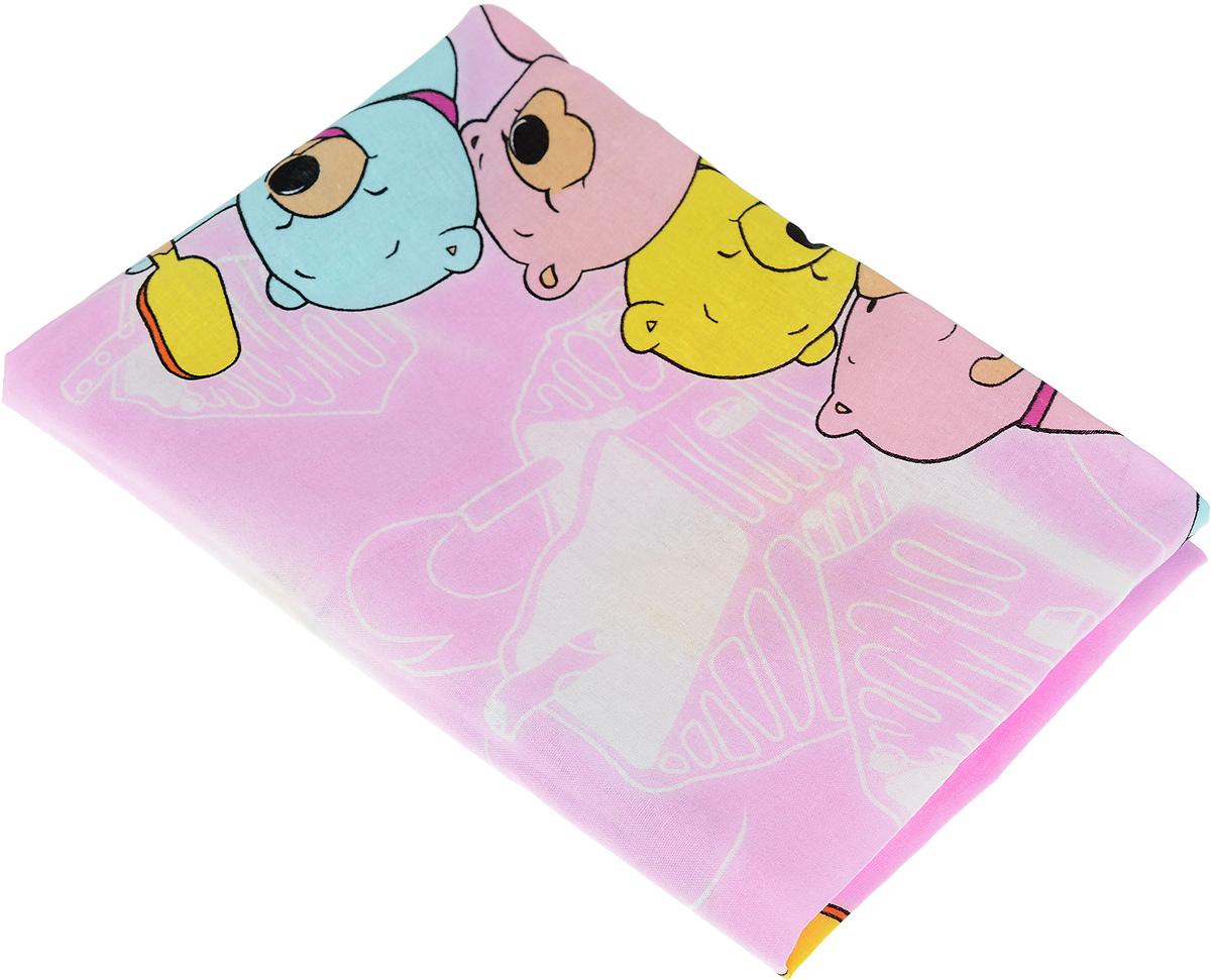 Фея Наволочка детская Мишки и мороженое цвет розовый 40 см х 60 см0001056-2_розовый, разноцветные мишки/мороженоеДетская наволочка Фея Мишки и мороженое идеально подойдет для подушки вашего малыша. Изготовлена из натурального хлопка, она необычайно мягкая и приятная на ощупь. Натуральный материал не раздражает даже самую нежную и чувствительную кожу ребенка, обеспечивая ему наибольший комфорт. Приятный рисунок наволочки, несомненно, понравится малышу и привлечет его внимание. На подушке с такой наволочкой ваша кроха будет спать здоровым и крепким сном.
