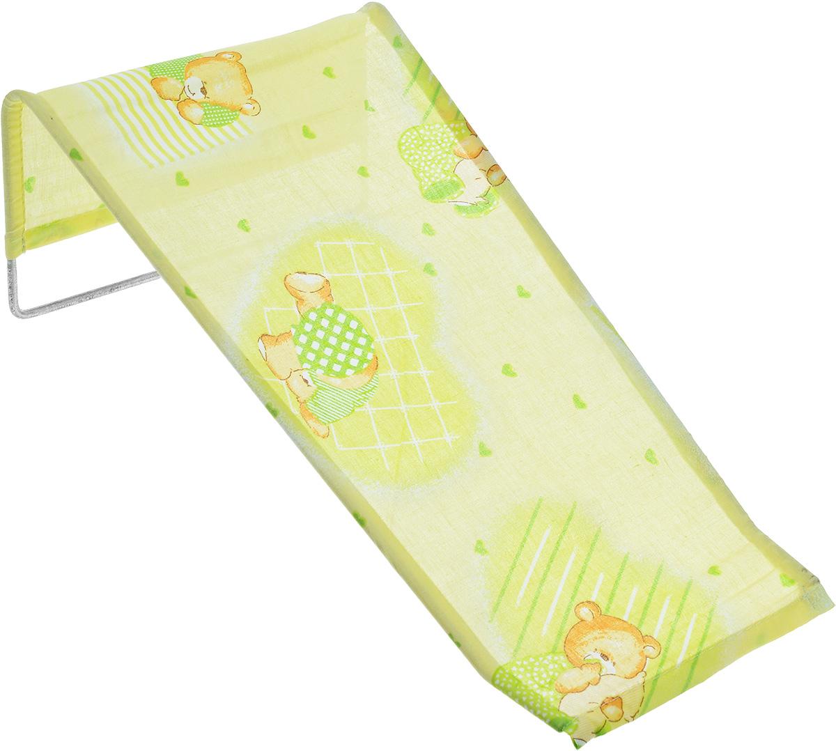 Фея Подставка для купания Мишка-акробат цвет салатовый