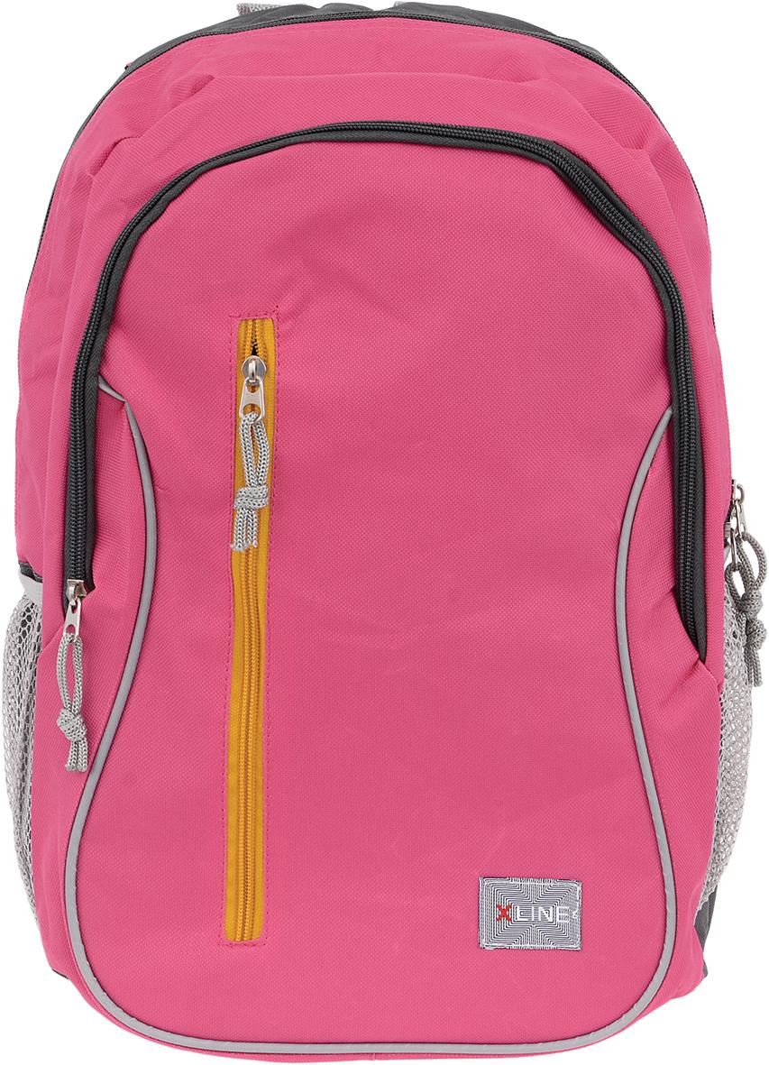 Proff Школьный ранец X-line цвет розовый