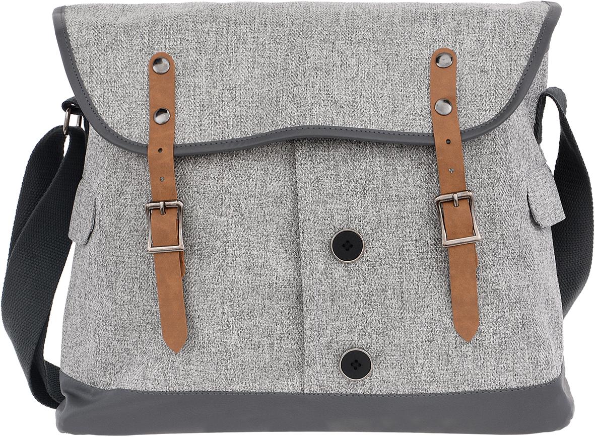 Proff Сумка школьная Dress CodeDS16-SBT-17Школьная сумка Proff Dress Code выполнена из прочного износостойкого материала. Сумка состоит из одного вместительного отделения и закрывается клапаном на магнитные кнопки. Внутри отделения находится один небольшой кармашек на молнии. По бокам сумки находятся два небольших кармашка с клапанами, а на задний стороне сумки находится вместительный карман на молнии. Плечевой ремень регулируется по длине, с помощью него сумку носить на плече будет еще удобнее.