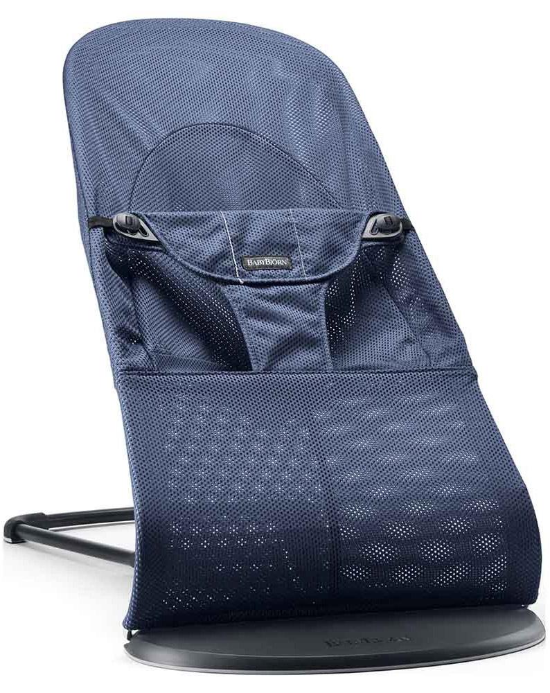 BabyBjorn Кресло-шезлонг Balance Soft цвет темно-синий 0050.08_темно-синий