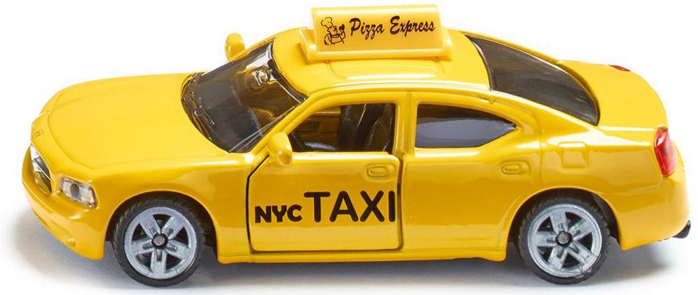 Siku Машинка Такси NYC1490Машинка Siku Такси NYC, выполненная из безопасных материалов, станет любимой игрушкой вашего малыша. Игрушка представляет собой модель автомобиля такси. Дверцы кабины открываются. Прорезиненные колеса машинки имеют свободный ход. Ваш ребенок будет часами играть с этой машинкой, придумывая различные истории. Порадуйте его таким замечательным подарком!
