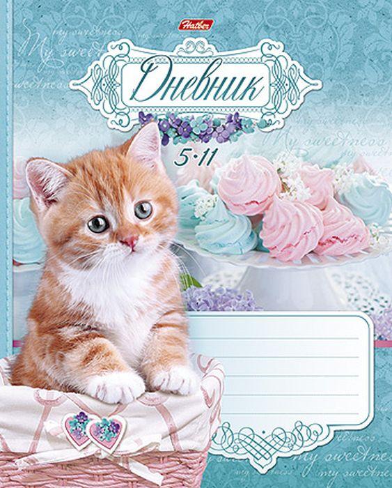 Hatber Дневник школьный Очаровательный котик 48Д5В_15025 ( 48Д5В_15025 )