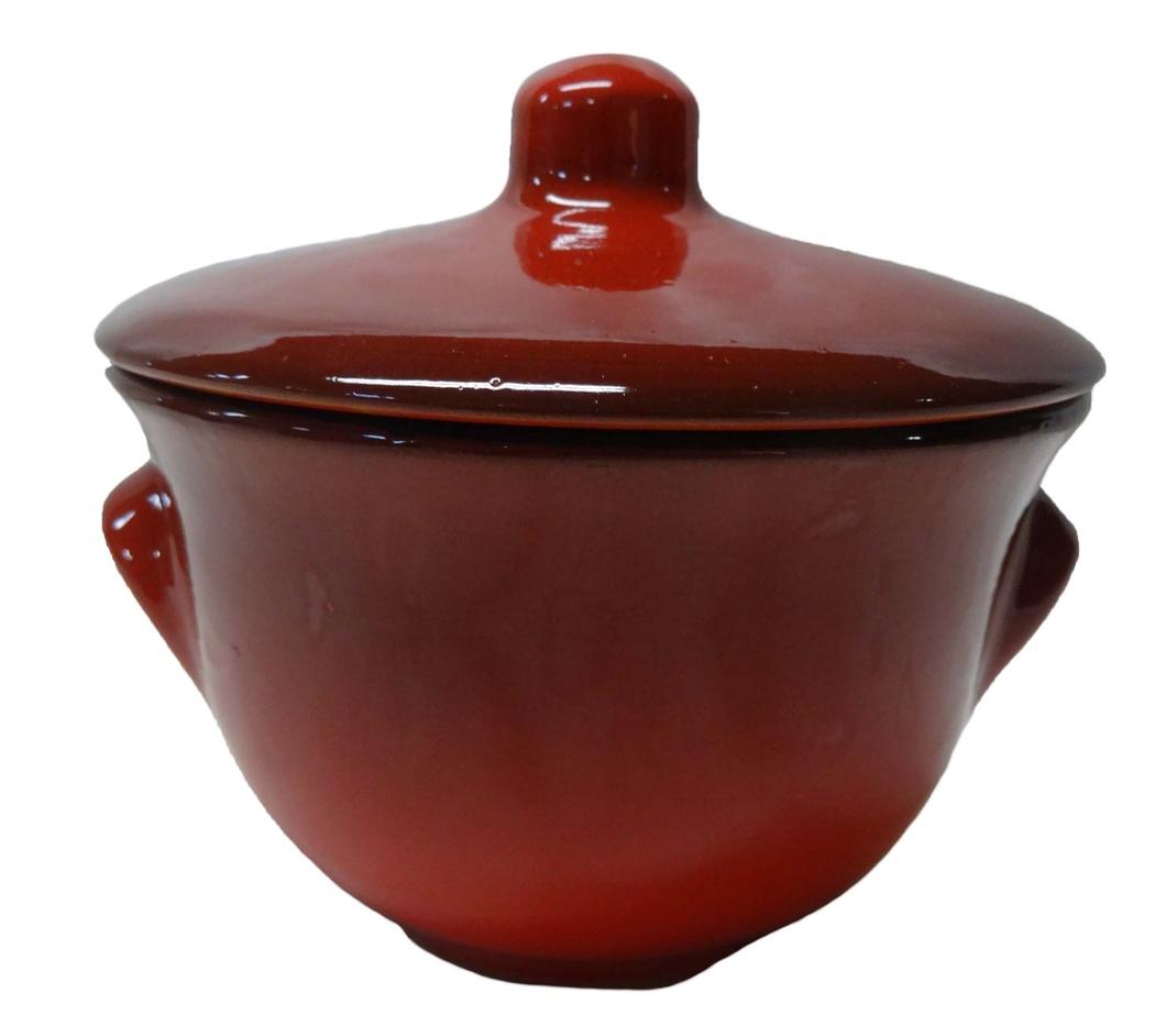 Горшок для жаркого Борисовская керамика Лакомка, 0,4 лКРС00000366Горшок для жаркого Борисовская керамика Лакомка выполнен из высококачественной керамики. Внутренняя и внешняя поверхность покрыты глазурью. Керамика абсолютно безопасна, поэтому изделие придется по вкусу любителям здоровой и полезной пищи. Порционный горшочек для запекания с крышкой очень вместителен и имеет удобную форму. Посуда жаропрочная. Можно использовать в духовке и микроволновой печи. Диаметр горшочка: 11 см. Высота: 11 см.