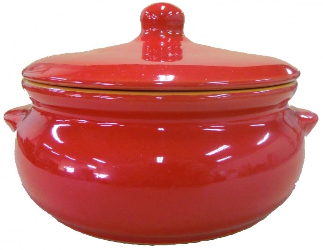 Горшок для запекания Борисовская керамика Красный, 700 млКРС00000379Идеально подходит для одной или нескольких порций. Уникальные свойства красной глины и толстые стенки изделия обеспечивают «эффект русской печи» при приготовлении блюд. Это значит, что еда будет очень вкусной, сочной и здоровой