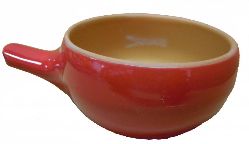 Кокотница Борисовская керамика Красный, 180 млКРС00000419Порционная форма для жульенов