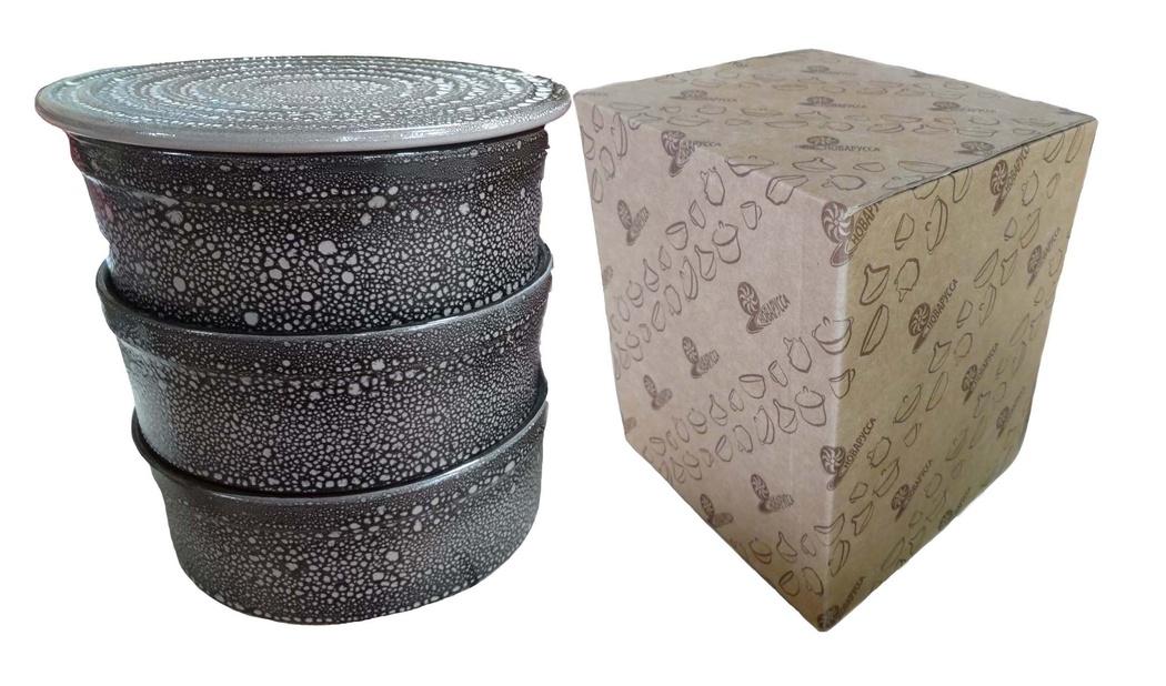 Набор для холодца Борисовская керамика Белогорье, 3000 млМРМ14456847Универсальный набор из трех прямых практичных форм для заливного-холодца и одной крышки-подставки. Сочетает в себе восемь (!) функций: формы для холодца, подставка для холодца, формы для запекания, удобные салатники, доска для нарезки, подставка под горячее, форма для выпечки торта, подставка для торта и пиццы