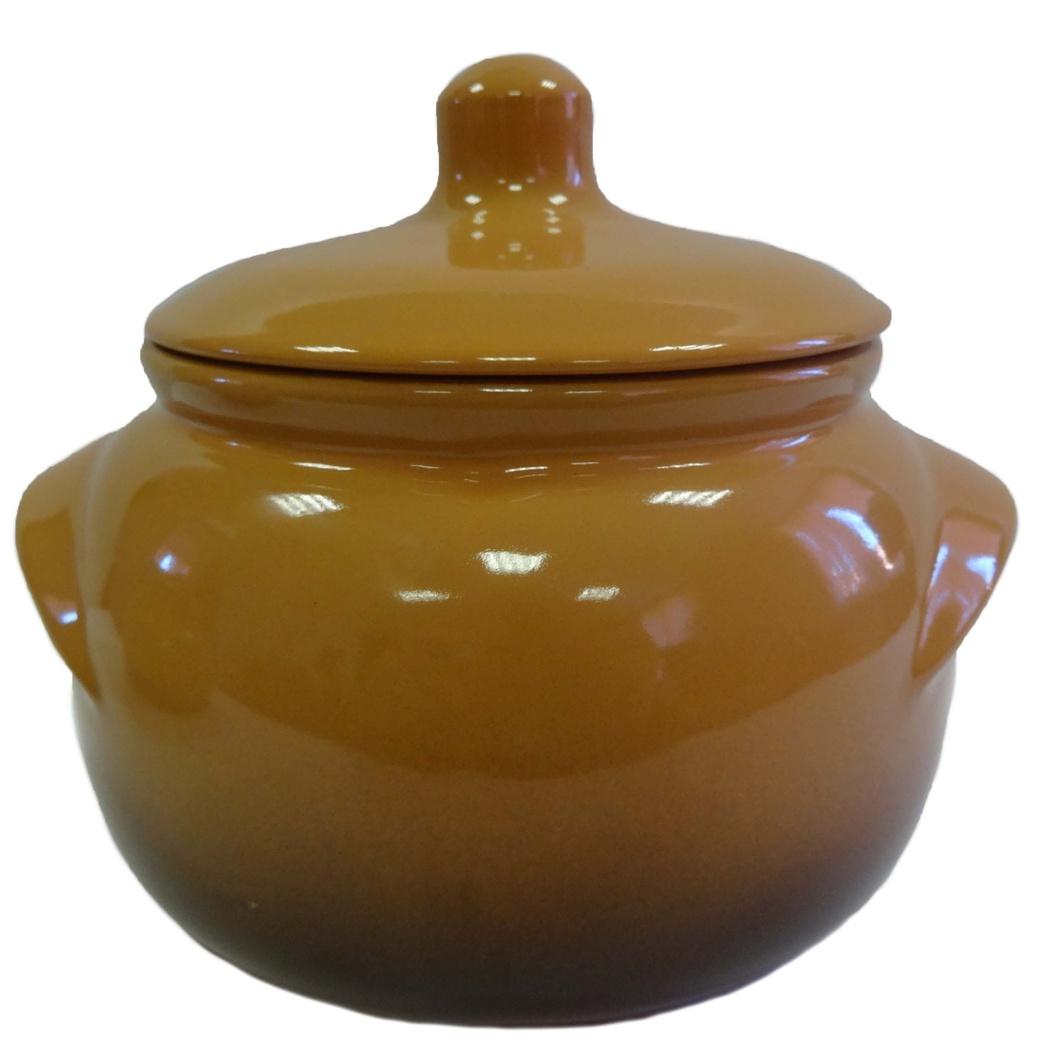 Горшок для запекания Борисовская керамика Новарусса, 500 мл. ОБЧ00000905ОБЧ00000905Отличный порционный горшок для жаркого современной формы. Подходит для здорового питания.