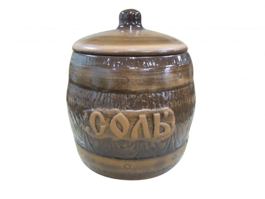 Бочонок Борисовская керамика Соль, 1200 млСТР00000319Удобный бочонок для компактного размещения на вашей кухне. Очень оригинально смотрится в любом интерьере. Оригинальный эффект старины!