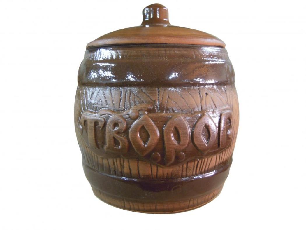 Бочонок Борисовская керамика Творог, 1200 млСТР00000321Удобный бочонок для компактного размещения на вашей кухне. Очень оригинально смотрится в любом интерьере. Оригинальный эффект старины!