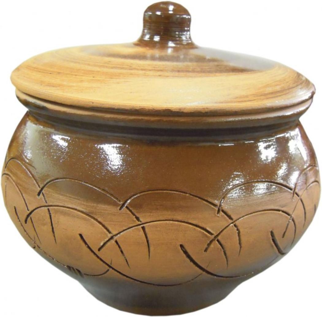Горшок для жаркого Борисовская керамика Старина, 1,3 лСТР00000333Горшок для жаркого Борисовская керамика Старина выполнен из высококачественной керамики и имеет оригинальный эффект старины. Керамика абсолютно безопасна, поэтому изделие придется по вкусу любителям здоровой и полезной пищи. Горшок для запекания с крышкой очень вместителен и имеет удобную форму. Идеально подходит для запекания большого объема на 2-3 порции. Посуда жаропрочная. Можно использовать в духовке и микроволновой печи. Диаметр горшочка: 16 см. Высота: 12 см.