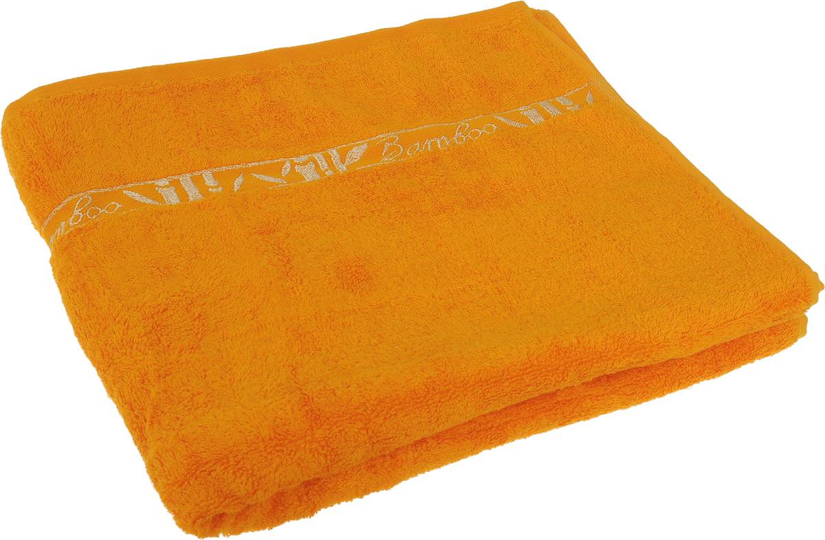 Полотенце Soavita Andrea, цвет: желтый, золотистый, 70 х 120 см64094Полотенце Soavita Andrea выполнено из 100% бамбукового волокна. Изделие отлично впитывает влагу, быстро сохнет, сохраняет яркость цвета и не теряет форму даже после многократных стирок. Полотенце очень практично и неприхотливо в уходе. Оно создаст прекрасное настроение и украсит интерьер в ванной комнате.